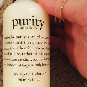 Other - Philosophy Purity made simple-face wash